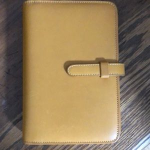Coach address and Diary Leather Book